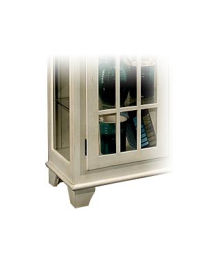 98658 BARLOW TWO DOOR DISPLAY CONSOLE