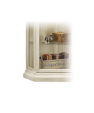 48958 PANORAMA CORNER DISPLAY CABINET