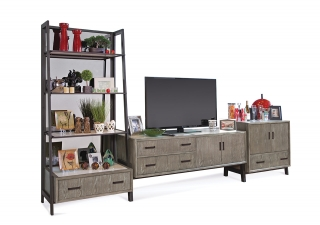 19259-19359-19459 Aarhaus Contemporary/ Industrial Entertainment Wall