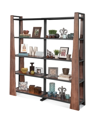 16462, 16462 Wildwood Bunching Pier Wall Bookcases