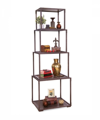 14201 KILDAIR I - IRON STACKING ETAGERE