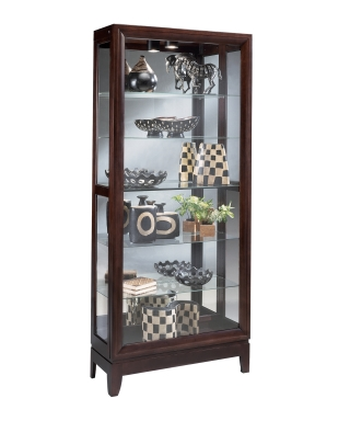 33780 URBAN TWO-WAY SLIDING DOOR CURIO CABINET