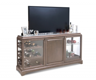 20653 LATITUDE IV TV / BEVERAGE / DISPLAY CREDENZA
