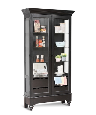 75057 SUMMERVILLE I DISPLAY CABINET