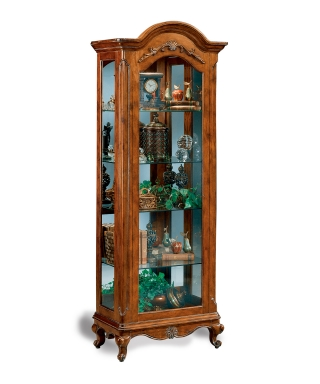 47162 CHARLEMAGNE COLLECTORS CURIO CABINET